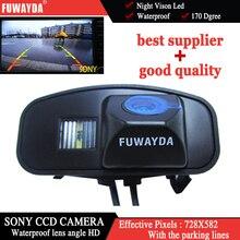 FUWAYDA автомобиля обратный заднего вида высокой четкости Цвет SONY CCD камера для Honda CRV CR-V Odyssey Fit Jazz Elysion
