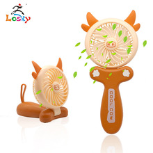 2019 new patented product clip type mini usb charging bladeless fan
