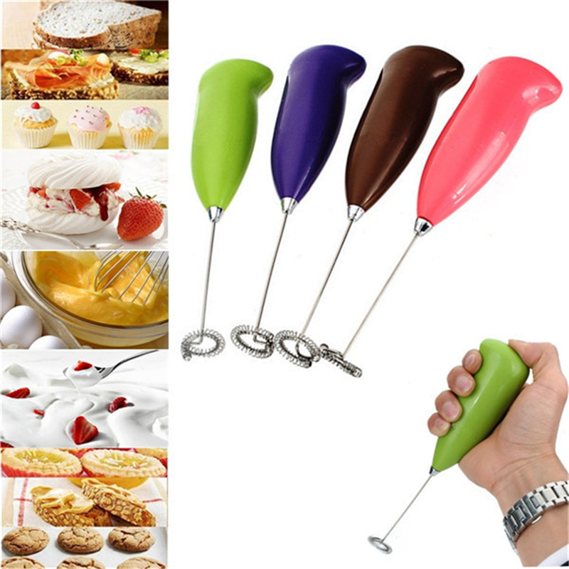 Coffee Electric Milk Mixer Frother Foamer Egg Electric Beater Whisk Coffee blender Mixers Egg Beater Mini Mixer Handle Stirrer jiqi household electric milk foam bubble maker fancy coffee milk frother foamer diy egg cream mixer mini automatic blender whisk