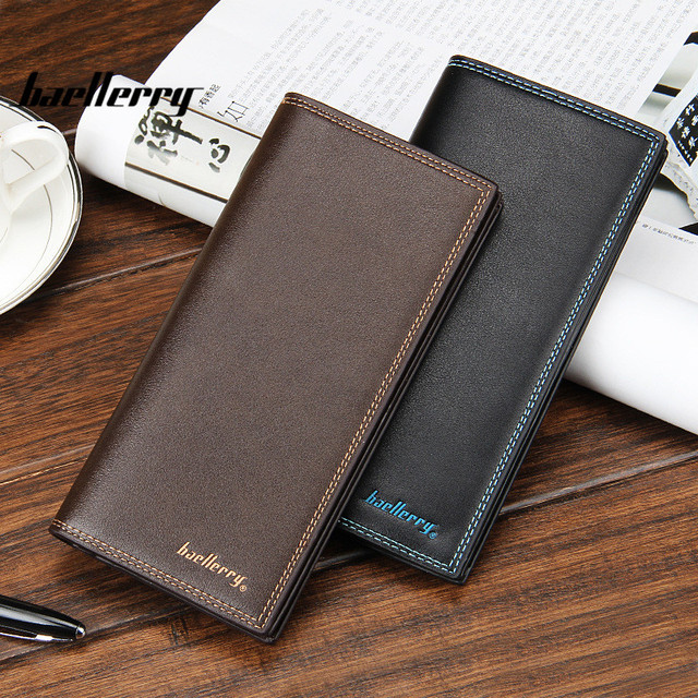 Los Angeles c2b64 fbcd5 US $12.64 |Baellerry Porta Carte Di Credito Carteira Masculina Leisure Suit  Purse Multi Card Wallet Carteira Masculina Marca Famosa Purses-in Wallets  ...