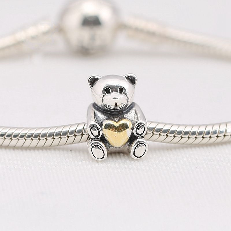 Authentic 925 Sterling Silver Animal Pendant Bead Monkey Hanging Charm Fit Original Pandora Bracelet Bangle Women Diy Jewelry Quality First Beads