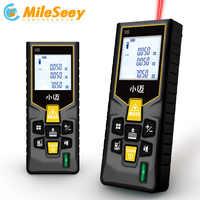 Mileseey Rechargeable MINI mètres Laser Distance mètre télémètre trouveur portable mesure mesure précise