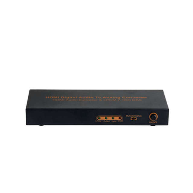 Prise Eu Hdmi vers Hdmi optique numérique vers analogique Audio extracteur 7.1Ch convertisseur Lpcm Audio Dac Hdmi vers 7.1 canaux Audio Conver