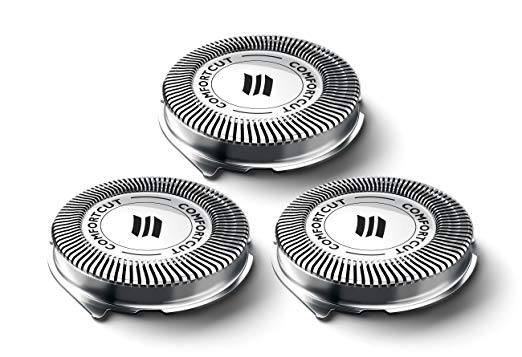 3pcs Shaver Blade Razor Replacement Shaver Head for <font><b>Philips</b></font> Norelco SH30/52 Series 1000 2000 3000 HQ64 <font><b>PT720</b></font> PT724 S5010 PT722 image