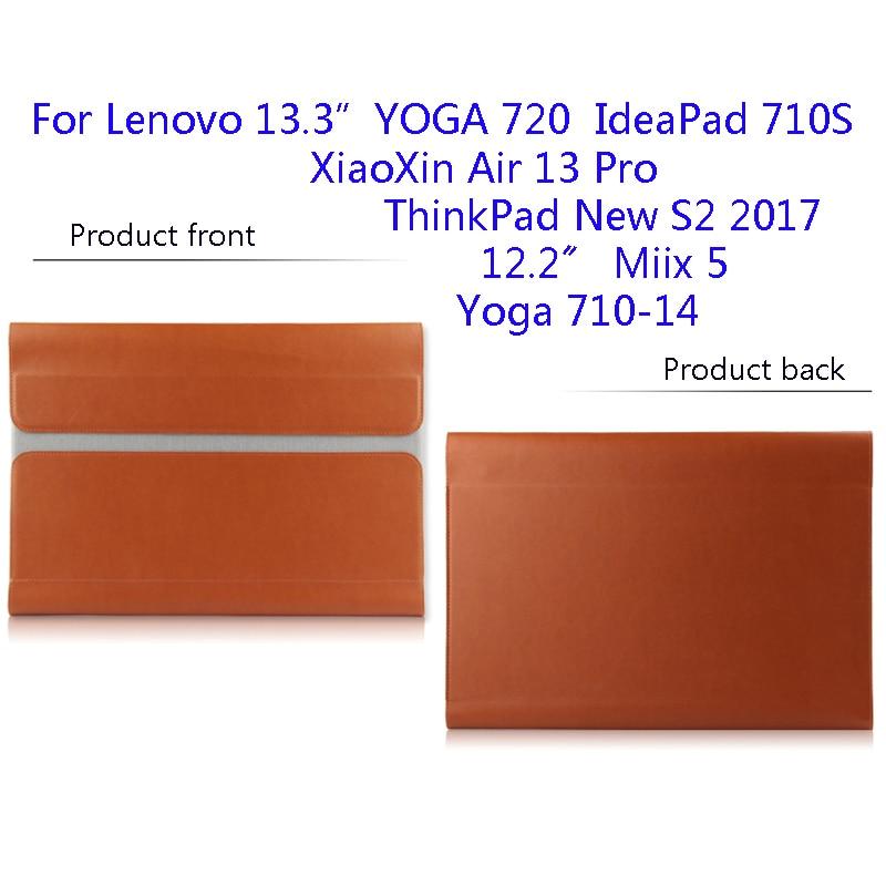 Fashion Bag For Lenovo YOGA 720 Miix 5 XiaoXin Air 13 Pro Laptop Sleeve For IdeaPad 710S Yoga 710-14 ThinkPad New S2 2017 Gift wireless removable bluetooth keyboard case cover touchpad for lenovo miix 2 3 300 10 1 thinkpad tablet 1 2 10 ideapad miix