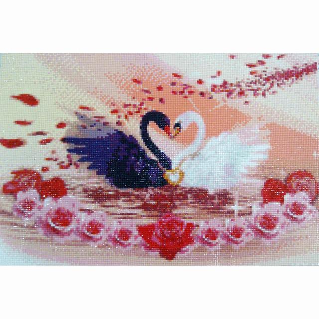 needlework diamond embroidery diy diamond mosaic painting rhinestones cross stitch diamond painting Dream flower 4pcs/set M009