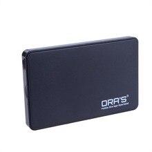 NEGRO 2.5 pulgadas SATA USB 3.0 caja de Disco Duro Caso Mobile Disk Caja