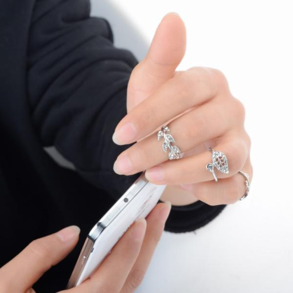 кольцо на пол пальца