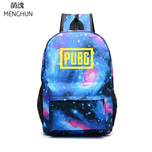 1b226fb31595 PUBG BACKPACKS hot game player unknown s battlegrounds starry sky backpacks  student gift school bag NB240-in Backpacks from Luggage   Bags on  Aliexpress.com ...