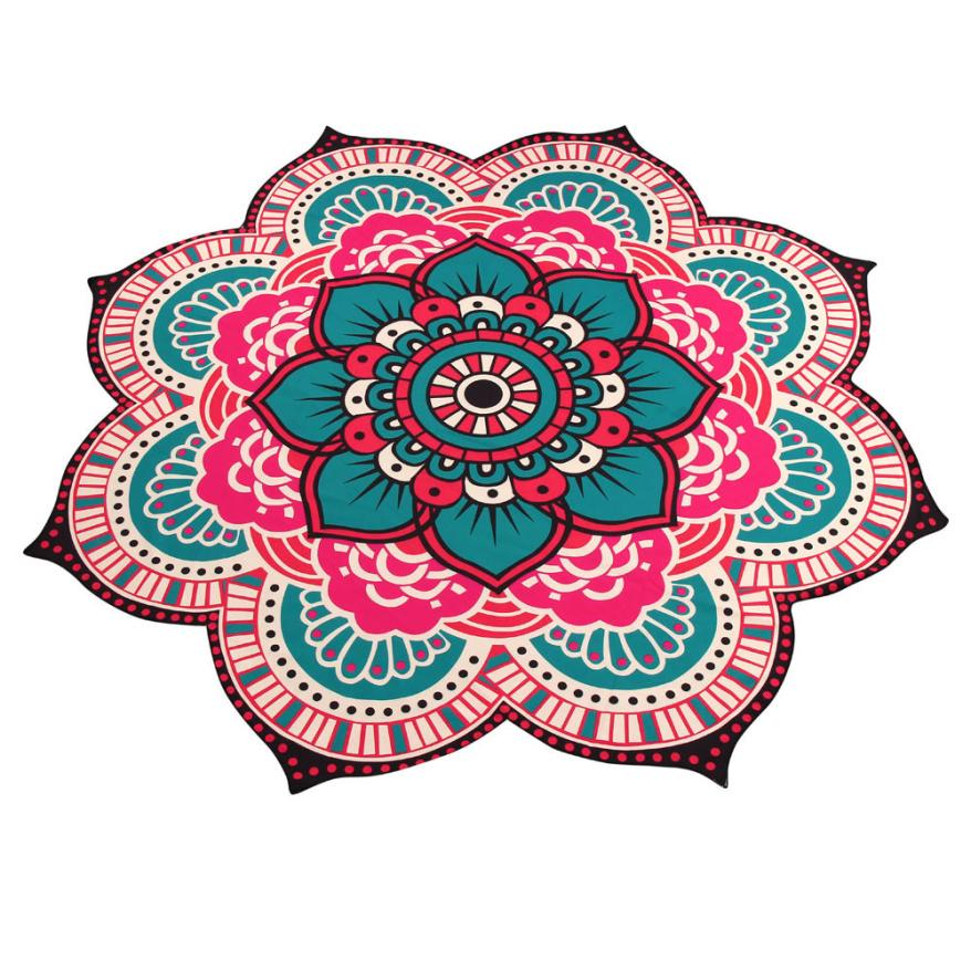 2017 Mandala Towel Yoga Mat Bohemian Beach Pool Home Table Cloth Yoga Mat 616