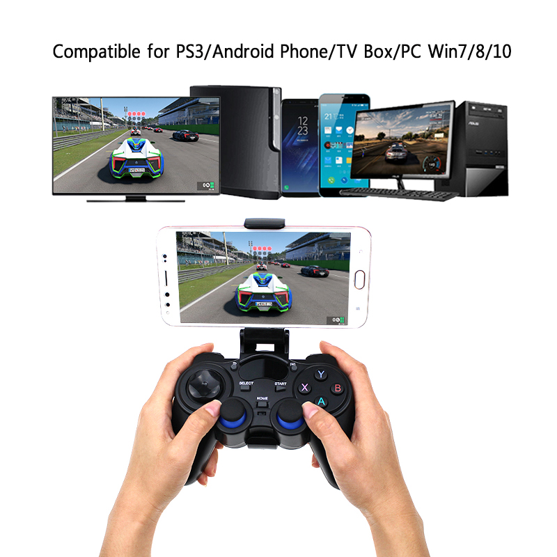 2.4G Wireless Android Gamepad For Android Phone PC PS3 TV Box Joystick  Joypad Game Controller For Smart Phone for sale in Pakistan dca3582931