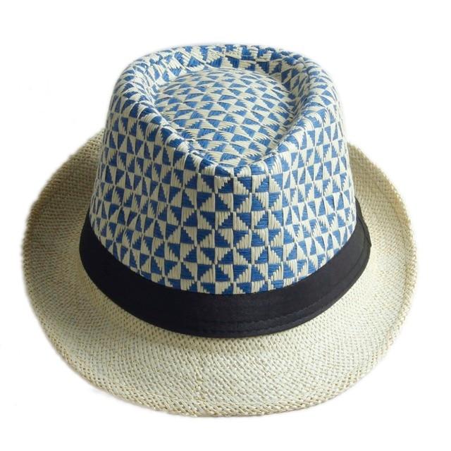 Unisex Handwork Women men Summer straw Sun hat Boho Beach Sunhat Fedora hat  Trilby panama Hat Gangster Cap with GoodPack 20 5289b5ac1b42