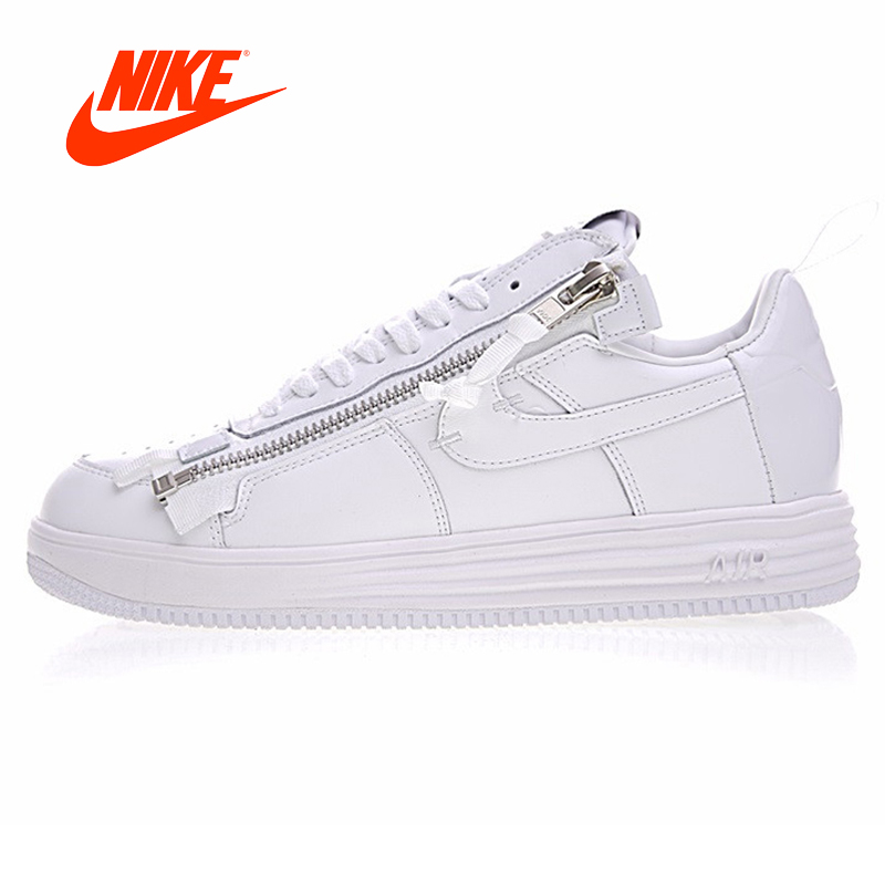 super popular 9593b 67261 Original New Arrival Authentic Nike Lunar Force 1 NikeLab X Acronym Mens  Basketball Shoes Sneakers Air Force 1 Shoes