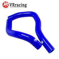VR RACING Silicone Radiator Coolant Hose Silicone Hose Kit W Logo For HONDA INTEGRA TYPE R