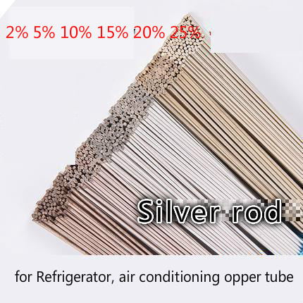 Free Shipping 2%-25% Sliver Welding Rod Soldering Electrode  Air Conditioning Refrigerator  Stainless Steel Iron Alloy