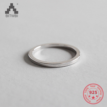 цены Authentic 100% 925 Sterling Silver Women Finger Rings Polished Round Simple Wedding Band Engagement Female Jewelry
