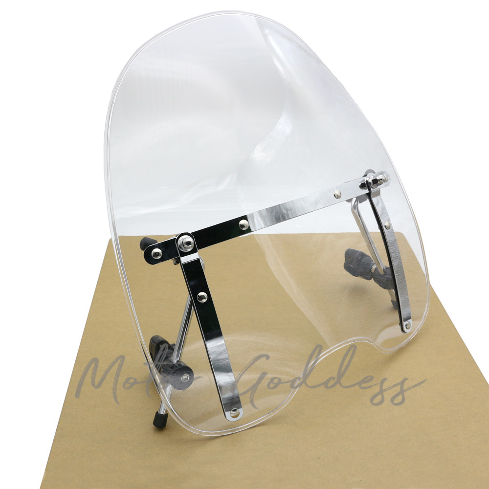 Brand New Motorcycle Accessories Windshield Windscreen for Harley Davidson Sportster Dyna Glide Softail XL 883 <font><b>1200</b></font> xl 120XL image