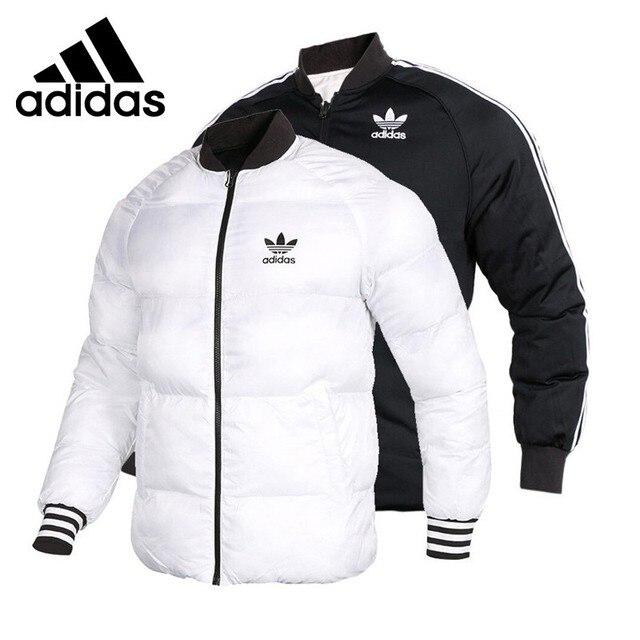 e64a5432a4882 Oryginalny nowy nabytek Adidas Originals SST kurtka męska odwracalne kurtka  zimowa odzież sportowa