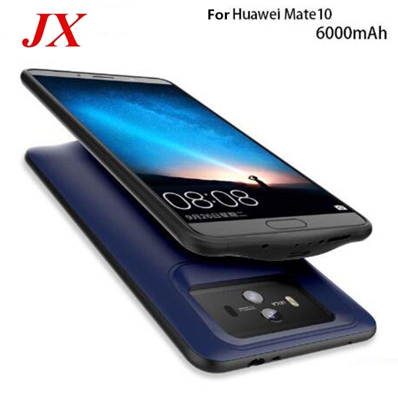 Купить 6000 мАч Аккумулятор Чехол для Huawei Mate 10 зарядное устройство чехол Смартфон Обложка Power Bank для Huawei Mate 10 чехол с аккумулятором на Алиэкспресс