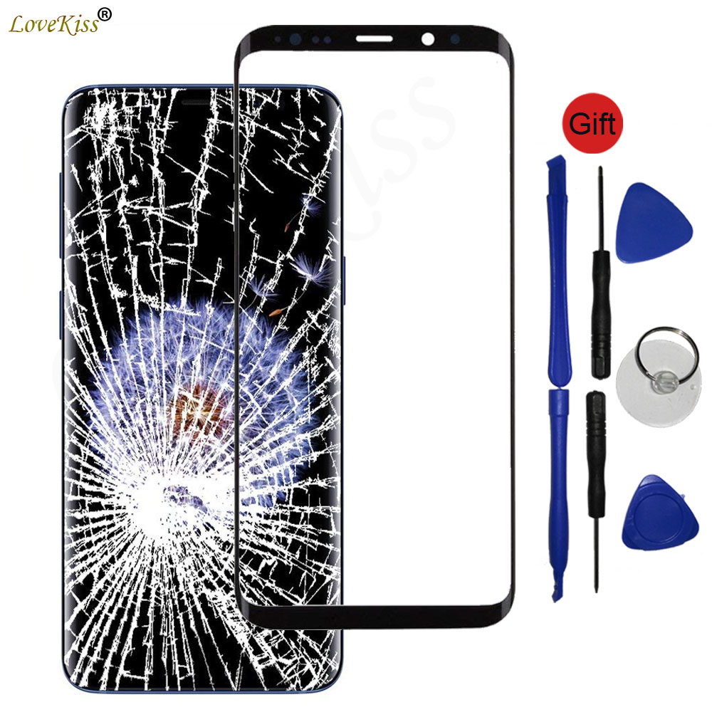 S8 Plus Front Panel For Samsung Galaxy S8 S9+ S9 Plus Note 8 Touch Screen Sensor Digitizer LCD Display Glass Cover Replacement