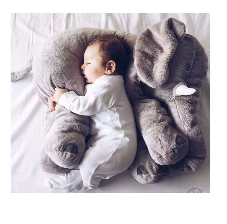 big size 60cm Infant Soft Appease Elephant Plush toys doll,kid Hold pillow,Cartoon dolls Ultra-low supply mymei pokemon pokeball go ultra soft pillow decor pillow soft plush doll
