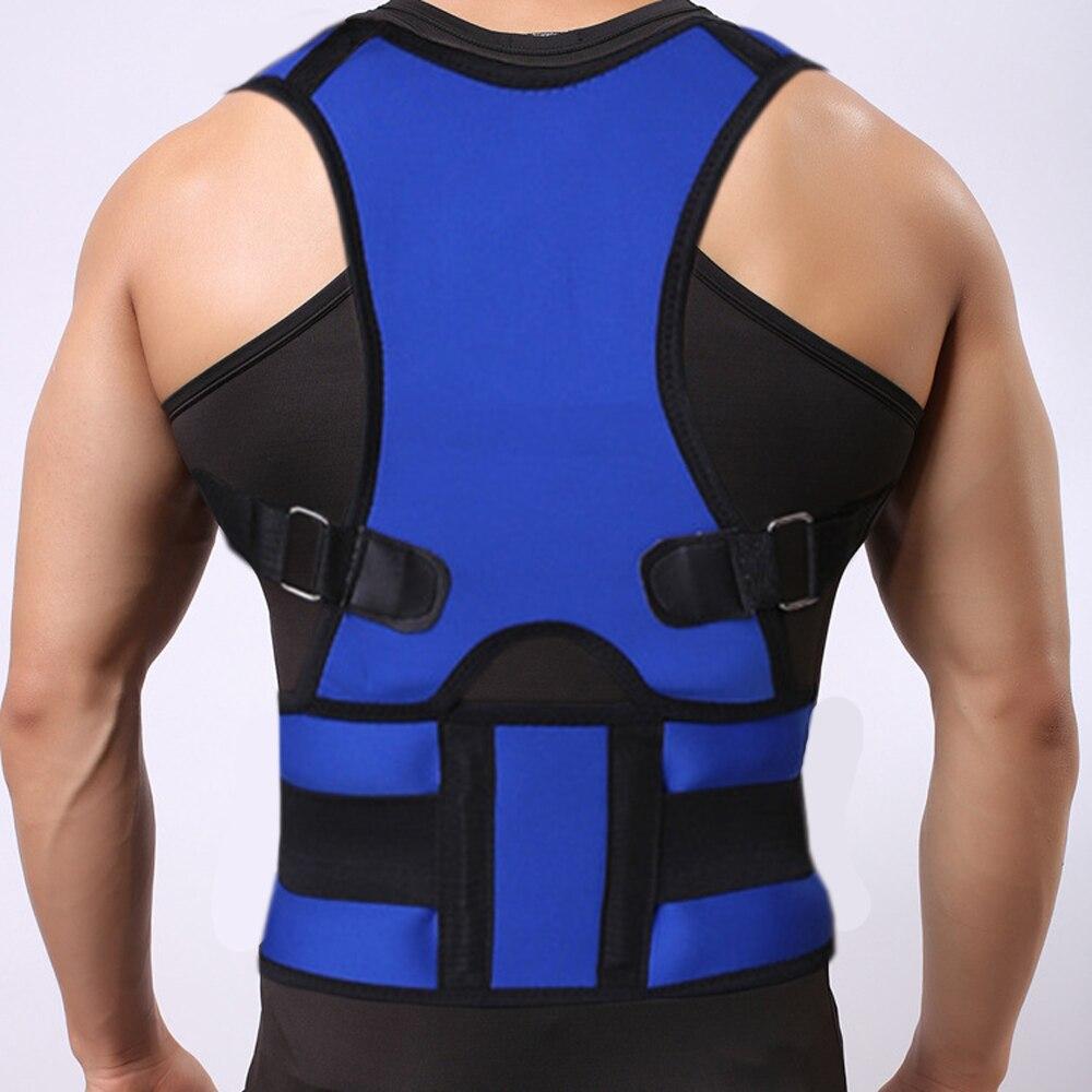 Reducing Lower Back Pain Waist Support Belt Correcting Tape Lumbar Bone Care Medical Brace Posture Corrector Corset Women Men