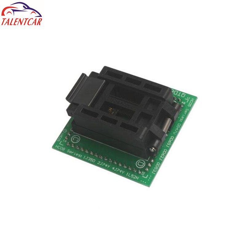 qfp64 pin QFP 64 ADAPTER IC programming with pcb base