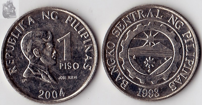 Philippines 1 Peso Coin Asia 100% Real And Original Coins