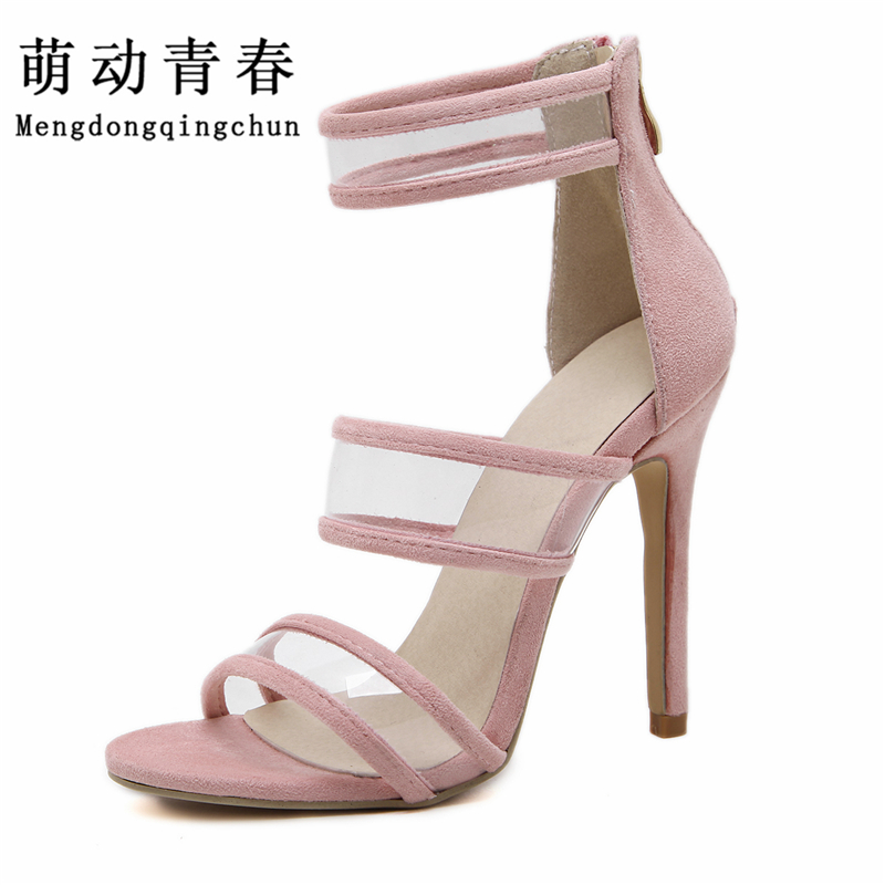 2017New Women Pumps Brand  High Heels Cut Outs  Open Toe Party Shoes Woman Gladiator Sandals Women Sexy Ladies Sandals hot new 2016 brand sexy high heels shoes summer new sandals luxury diamond female rhinestone gladiator shoes party pumps buckle