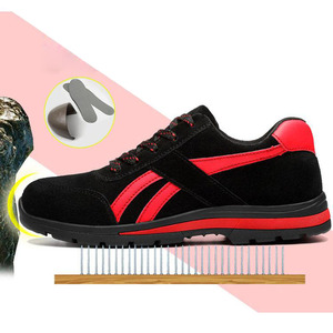 Защитные ботинки, мужские рабочие ботинки со стальным носком, дышащая сетка, Размер 12, износостойкие GXZ015