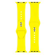 Soft Silicone Apple Watch Band For Watch4/3/2/1 Mens And Womens Fashion Sports Strap  Iwatch Series 44/42/40/38mm