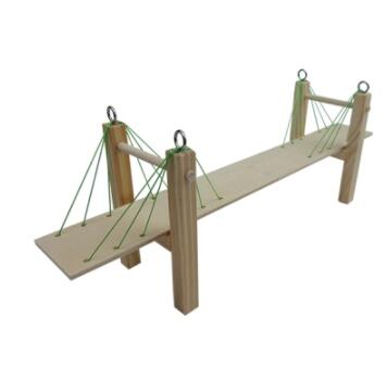 DIY Cable-stayed Bridge Model Material Package Physics Puzzle Model