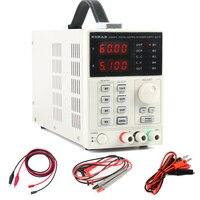 KA6005D Точность регулируемая программируемый питания постоянного тока 60 В 5A цифровой лабораторного класса телефона ремонтные комплекты