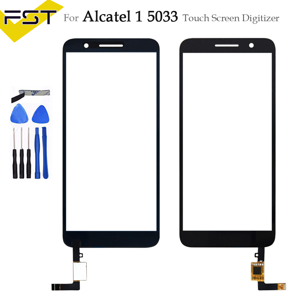 5.0''For Alcatel 1 5033 5033D 5033X 5033Y 5033A 5033J Touch Screen Digitizer Glass Sensor For Telstra Essential Plus 2018