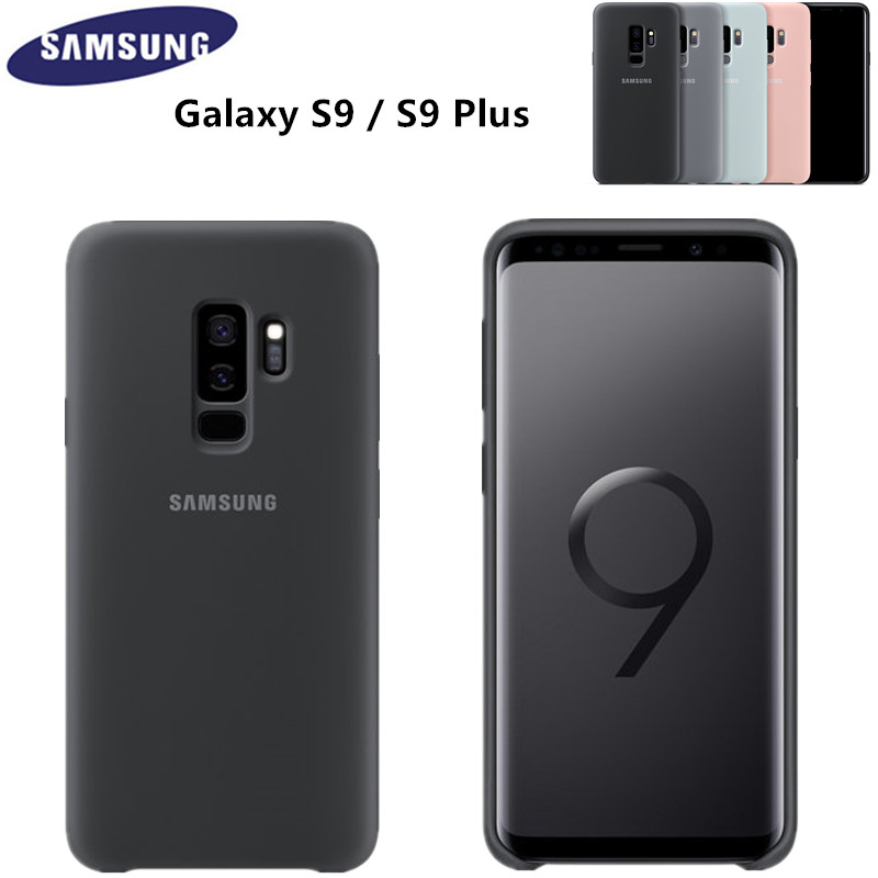 100% Original Samsung Silicone Cover Case for Samsung Galaxy S9 /S9 Plus -6 colors Anti-Wear Protection EF-PG965 EF-PG960