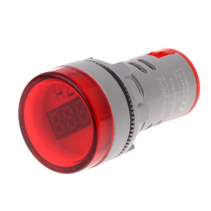 22 مللي متر هرتز التيار المتناوب تردد متر LED شاشة ديجيتال مؤشر مصباح إشارة أضواء ث-مخزن Jan15