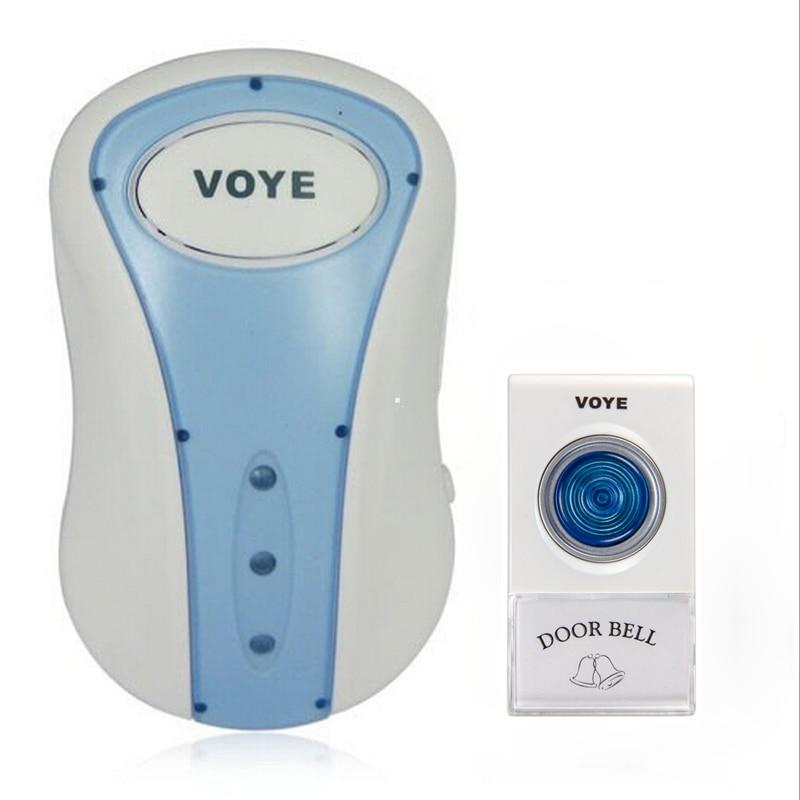 Wireless Door Bell Home Cordles Doorbell 80m Range 38 Chimes AC 200-240V quhwa qh 831a wireless door bell