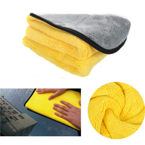 4 Size Super Absorbent Car Wash Cloth Microfiber Towel Cleaning Drying Cloths Rag Detailing Car Towel Car Care Polishing 14