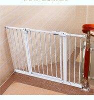 Детская безопасность двери Детская лестница Pet забор собака забор бар изоляции двери бесплатная установка прочный и профессионал