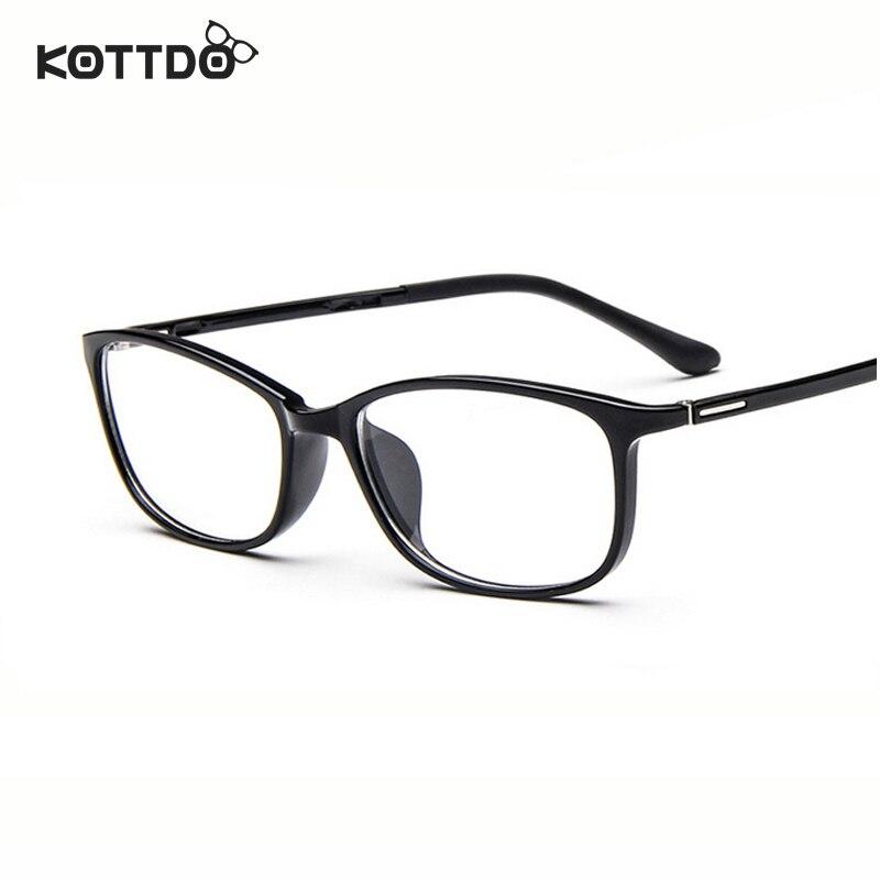 Eyeglasses Frame Too Small : KOTTDO retro ultralight square small glasses Frame TR90 ...