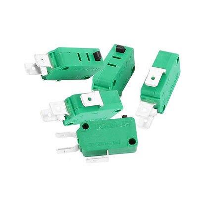 10 adet SPDT 3 Terminalleri Anlık mikro sınır anahtarı 16A AC125/250 V Yeşil kW3-0Z