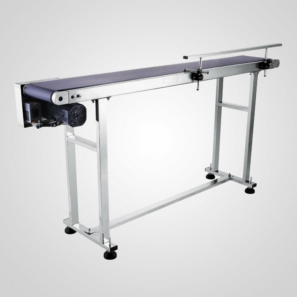 Belt Conveyor Machine Adjustable Automatic Speed Spurt The Code Machine Laser Machine On Production Line Printing Code