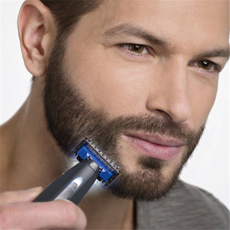 NEW Micro Touch New SOLO Rechargeable Shaver Peronal Hair Cleaning Shaver Trimmer and Edger Hyper-Advanced Smart Razor For Men