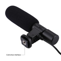 DSLR Camera Microphone Professional Interviewing Handheld Wired Mic For Nikon Canon Record Video Studio Camcorder
