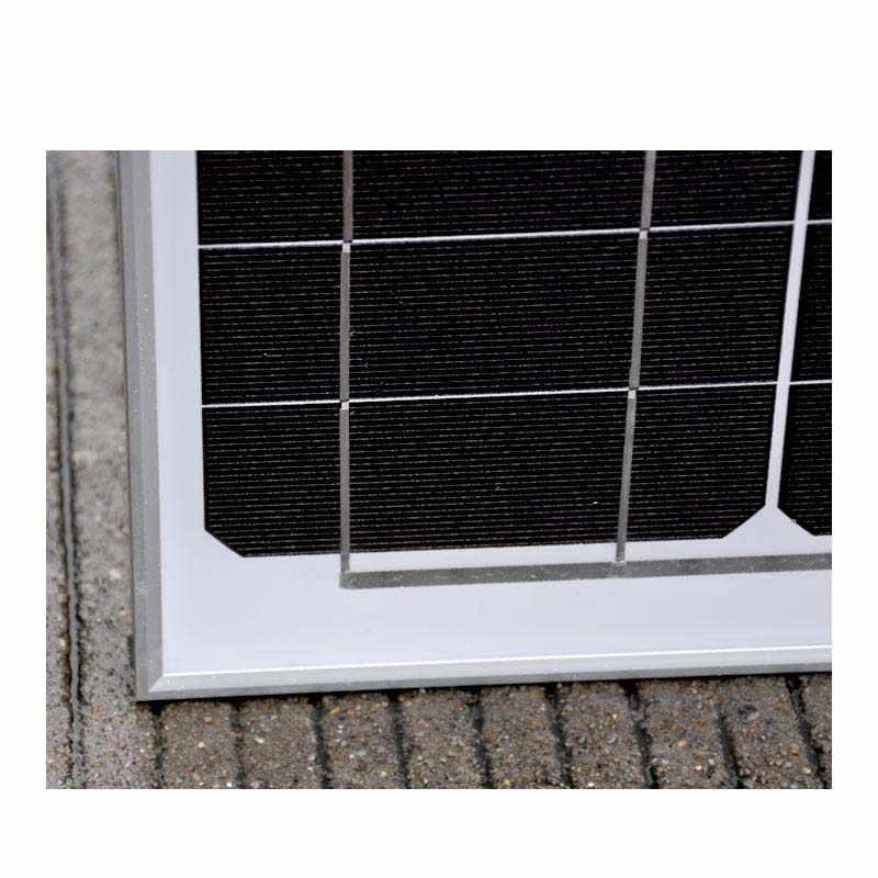 Panel Solar a prueba de 60w 18v Solar del cargador de batería Solar controlador PWM 12 v/24 v USB Dual cargador de teléfono LCD coche caravana campamento