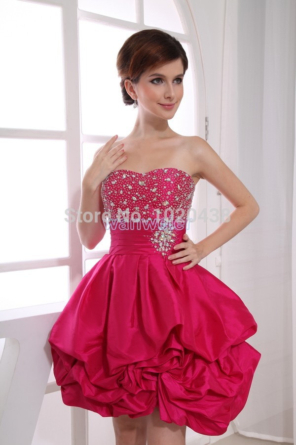 Free Shipping Graduation Dress Patterns Formal Gown Taffeta Mini Amazing Formal Dress Patterns