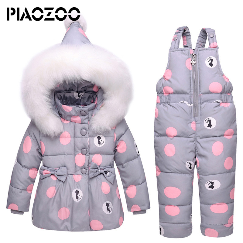 2018 New Winter children clothing sets toddler girls Warm Hooded parka down jacket Newborn Infant snowsuit suspender jumpsuitP202018 New Winter children clothing sets toddler girls Warm Hooded parka down jacket Newborn Infant snowsuit suspender jumpsuitP20