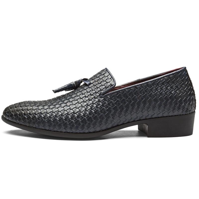 Taille 48 Plus 45 46 bleu Noir Tricot Conduite Hommes Luxe Cross 2018 Mocassins Pour 47 country La gris Chaussures Mode De 8nPwkXO0