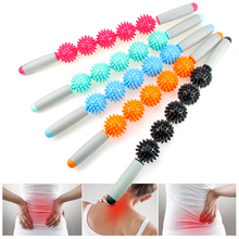 Massage Roller Muscle Stick with Point Spiky Ball Back