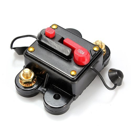 Cheap MYLB-12-24V DC amplifier fuse holder breaker 100A car kfz assurance